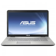"Laptop ASUS N751JK-T7176D, Intel Core i7-4710HQ pana la 3.5GHz, 17.3"" Full HD, 12GB, HDD 1TB + SSD 256GB, nVIDIA GeForce GTX 850M 4GB DDR3, Free Dos"