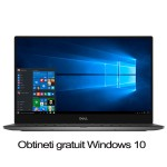 "Ultrabook DELL XPS 13 9343, Windows 8.1, Intel® Core™ i7-5500U pana la 3.0GHz, 13.3"" Quad HD+ Touch Screen, 8GB, SSD 256GB, Intel® HD Graphics 5500"