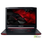 "Laptop ACER Predator G9-791-707N, Intel® Core™ i7-6700HQ pana la 3.5GHz, 17.3"" UHD 4K, 48GB, HDD 1TB + SSD 512GB, nVIDIA GeForce GTX 980M 4GB, Linux"