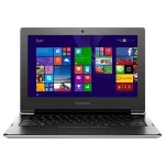 "Laptop LENOVO S21e-20, Intel® Celeron® N2840 pana la 2.58GHz, 11.6"", 2GB, eMMC 64GB, Intel® HD Graphics, Windows 8.1, Silver"