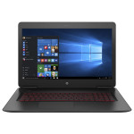 "Laptop HP Omen 17-w201nq, Intel® Core™ i5-7300HQ pana la 3.5GHz, 17.3"" Full HD IPS, 8GB, HDD 1TB + SSD 128GB, NVIDIA® GeForce® GTX 1050 4GB, Windows 10 Home"