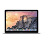 "Laptop APPLE MacBook 12"" Retina Display mjy42ro/a, Intel® Core™ M pana la 2.6GHz, 8GB, 512GB, Intel® HD Graphics 5300, OS X Yosemite, Space Gray - Tastatura layout RO"