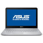 "Laptop ASUS N552VX-FY026D, Intel® Core™ i7-6700HQ pana la 3.5GHz, 15.6"", 16GB, SSD 256GB, nVIDIA GeForce GTX 950M 4GB, Free Dos"