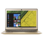 "Laptop ACER Swift SF314-51-70KG, Intel® Core™ i7-7500U pana la 3.5GHz, 14"" Full HD, 8GB, SSD 256GB, Intel® HD Graphics 620, Windows 10 Home, Gold"