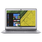 "Laptop ACER Swift SF314-51-554W, Intel® Core™ i5-6200U pana la 2.8GHz, 14"" Full HD, 8GB, SSD 256GB, Intel® HD Graphics 520, Windows 10, Silver"