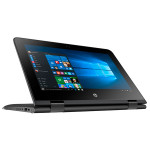 "Laptop HP Stream x360 11-aa000nq, Intel® Celeron® N3060 pana la 2.48GHz, 11.6"" IPS Touch, 2GB, eMMC 32GB, Windows 10 Home"