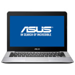 "Laptop ASUS X302UV-FN011D, Intel® Core™ i3-6100U 2.3GHz, 13.3"", 4GB, 500GB + 24GB cache, NVIDIA® GeForce® 920MX 2GB, Free Dos"