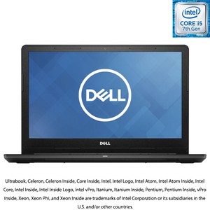 "Laptop DELL Inspiron 3567, Intel® Core™ i5-7200U Processor (3M Cache, up to 3.10 GHz), 15.6"", 4GB, 500GB, AMD Radeon R5 M430 2 GB, Ubuntu"