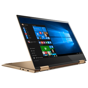 "Laptop LENOVO Yoga 720-13IKB, Intel® Core™ i7-8550U pana la 4.0GHz, 13.3"" Full HD Touch, 8GB, SSD 512GB, Windows 10 Home, Copper"
