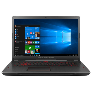 "Laptop Gaming ASUS ROG Strix GL702ZC-GC178T, AMD Ryzen™ 7 1700 1700 pana la 3.7GHz, 17.3"" Full HD, 8GB, 1TB Hybrid (FireCuda), AMD Radeon RX 580 4GB, Windows 10 Home"