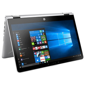 "Laptop HP Pavilion x360 14-ba100nq, Intel® Core™ i5-8250U pana la 3.4GHz, 14.0"" HD Touch, 4GB, 1TB, Intel® UHD Graphics 620, Windows 10 Home"