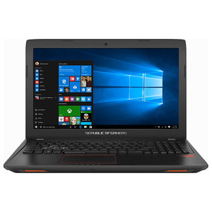 "Laptop ASUS ROG GL553VD-FY079T, Intel® Core™ i7-7700HQ pana la 3.8GHz, 15.6"" Full HD, 8GB, 1TB, NVIDIA GeForce GTX 1050 4GB, Windows 10"
