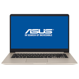 "Laptop ASUS VivoBook S510UQ-BQ483, Intel® Core™ i7-8550U pana la 4.0GHz, 15.6"" Full HD, 8GB, 1TB, NVIDIA® GeForce® 940MX 2GB, Endless"