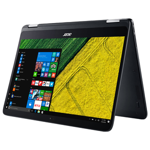 "Laptop ACER Spin SP714-51-M8MS, Intel® Core™ i7-7Y75 pana la 3.6GHz, 14"" IPS Full HD, 8GB, SSD 512GB, Intel® HD Graphics 615, Windows 10 Home"
