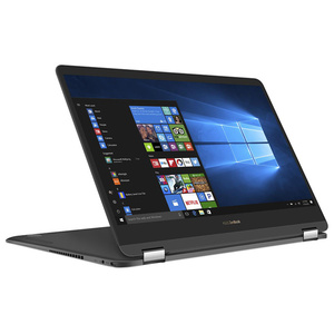 "Laptop ASUS ZenBook Flip S UX370UA-C4095T, Intel® Core™ i7-7500U pana la 3.5GHz, 13.3"" Full HD, 16GB, SSD 256GB, Intel® HD Graphics 620, Windows 10"