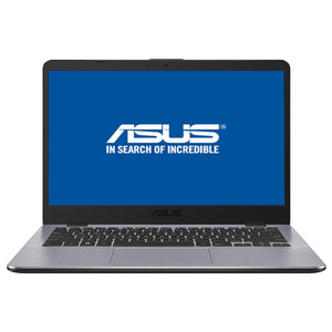"Laptop ASUS Vivobook X405UA-BM396, Intel® Core™ i5-7200U pana la 3.1GHz, 14"" Full HD, 4GB, SSD 256GB, Intel® HD graphics 620, Endless"