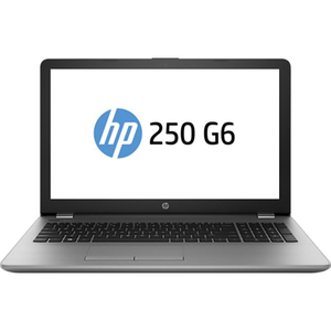 "Laptop HP 250 G6, Intel Core i3-6006U 2.0GHz, 15.6"" HD, 8GB, SSD 128GB, Intel HD Graphics 520, Free Dos, Argintiu"