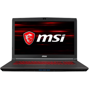 "Laptop MSI GV72 8RE, Intel Core i7-8750H pana la 4.1GHz, 17.3"" Full HD, 8GB, 1TB + SSD 128GB, NVIDIA GeForce GTX 1060 3GB, Free Dos"