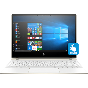 "Laptop HP Spectre 13-af000nn, Intel® Core™ i5-8250U pana la 3.4GHz, 13.3"" Full HD IPS Touch, 8GB, SSD 256GB, Intel® UHD Graphics 620, Windows 10 Home, Ceramic White"