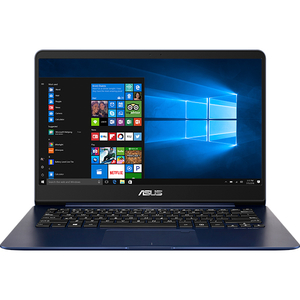 "Laptop ASUS ZenBook UX430UN-GV072T, Intel Core i7-8550U pana la 4.0GHz, 14"" Full HD, 16GB, SSD 256GB, NVIDIA GeForce MX150 2GB, Windows 10 Home"