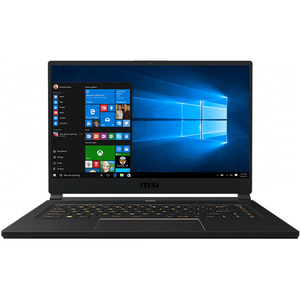 "Laptop MSI GS65 Stealth 8SF, Intel® Core™ i7-8750H pana la 4.1GHz, 15.6"" Full HD, 16GB, SSD 512GB, NVIDIA GeForce RTX 2070 8GB, Windows 10 Pro"