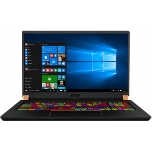 "Laptop MSI GS75 Stealth 8SF, Intel Core i7-8750H pana la 4.1GHz, 17.3"" Full HD, 16GB, SSD 512GB, NVIDIA GeForce RTX 2070 Max-Q Design 8GB, Windows 10 Home"