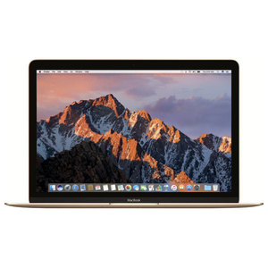 "Laptop APPLE MacBook 12"" Retina Display mnyk2ze/a, Intel® Core™ m3 pana la 3.0GHz, 8GB, 256GB, Intel HD Graphics 615, MacOS Sierra, Gold - Tastatura layout INT"