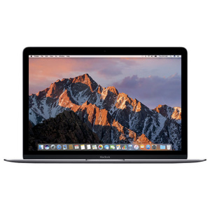 "Laptop APPLE MacBook 12"" Retina Display mnyf2ze/a, Intel® Core™ m3 pana la 3.0GHz, 8GB, 256GB, Intel HD Graphics 615, macOS Sierra, Space Gray - Tastatura layout INT"